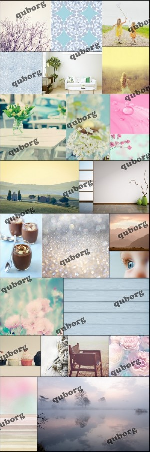 Stock Photos - Pastel Palette