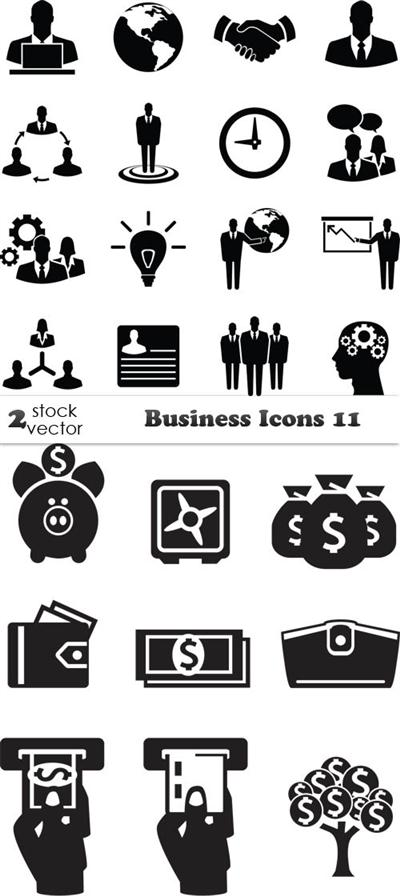 Vectors - Business Icons 11