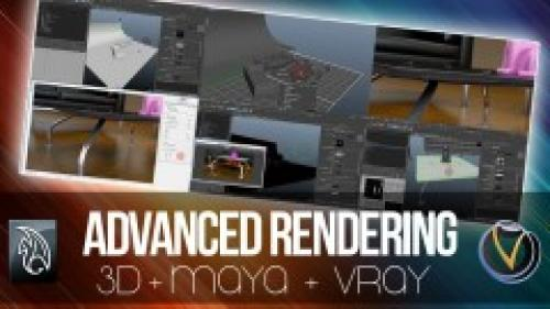 Udemy - Maya - Advanced Rendering with V-Ray