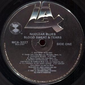 Blood Sweat & Tears  –  Nuclear Blues (1980)