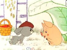 Приключения огуречика. Сборник мультфильмов (1963-1988) DVDRip