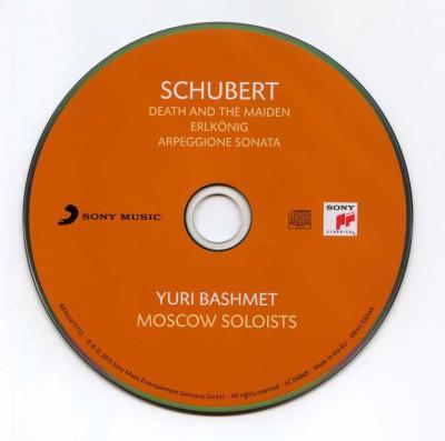 Yuri Bashmet (viola) & Moscow Soloists – Schubert / 2013 Sony Music