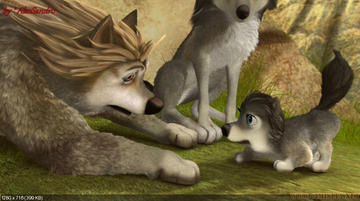 Альфа и Омега 3 / Alpha and Omega 3: The Great Wolf Games [2014 / WEB-DL]