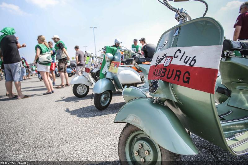 Мотослет Vespa World Days 2014 (фото)