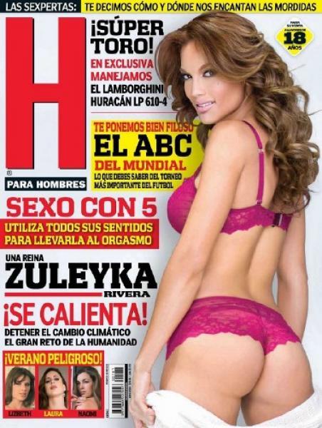 H para Hombres Mexico - June 2014