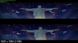 Рио 2 3Д / Rio 2 3D  (Лицензия) by Ash61) Вертикальная анаморфная