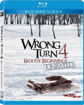 Поворот не туда 4 / Wrong Turn 4 (2011) BDRip 720p | Лицензия